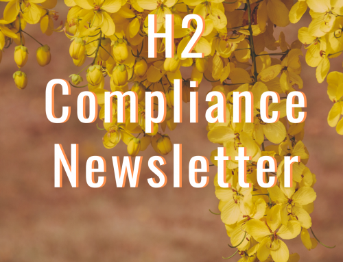 H2 Compliance March 2021 Newsletter